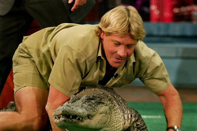 Happy 58th Birthday to Steve Irwin. An absolute legend taken from us WAYYY too soon