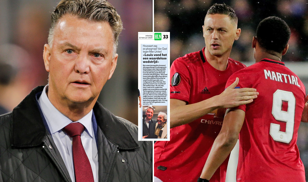 Man Utd news: Louis van Gaal thought Club Brugge draw was 'lousy' and 'worthless' #MUFC  https://www.express.co.uk/sport/football/1245942/Manchester-United-news-Louis-van-Gaal-Club-Brugge-Europa-League…pic.twitter.com/vWG6zAWHfs