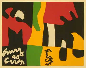 I own a beautiful Stuart Davis screenprint. He died before he could pencil-sign the edition. I couldn't have afforded it otherwise—and it's just as beautiful without his signature: pic.twitter.com/plSiglf9sE
