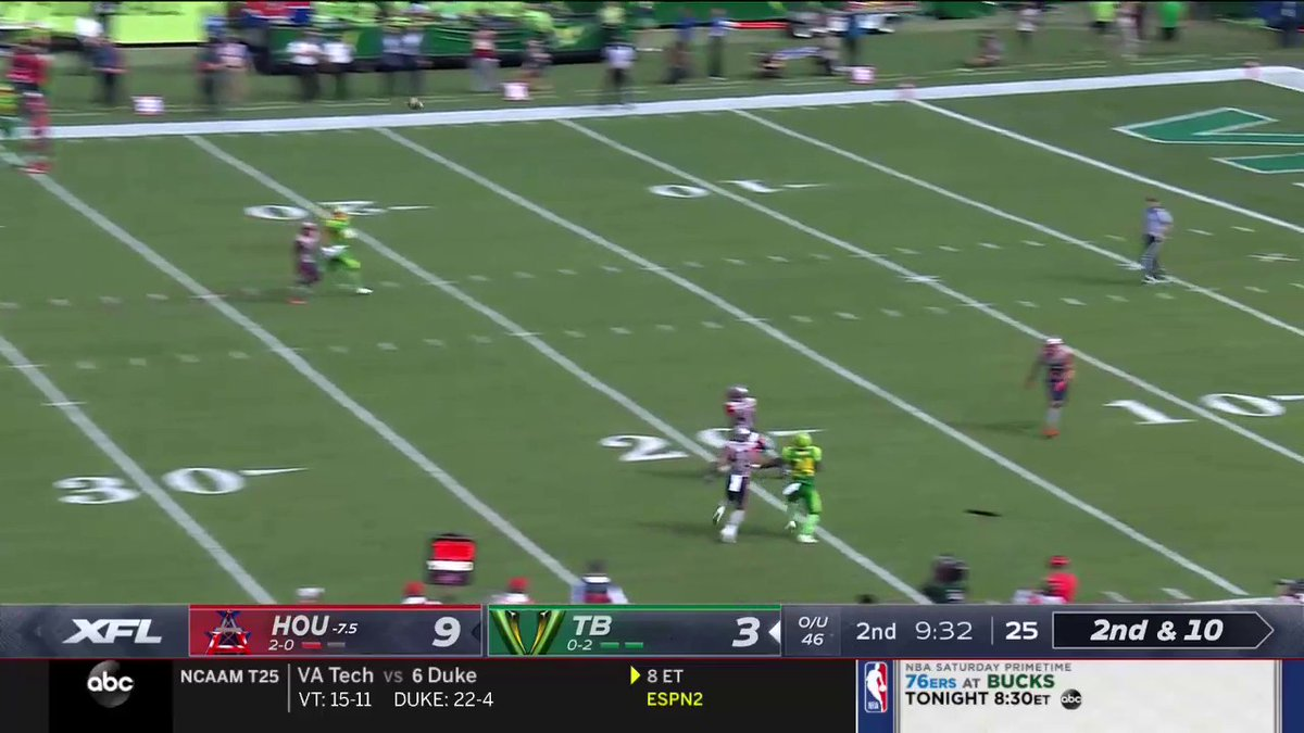 Michigan football De'Veon Smith XFL catch video