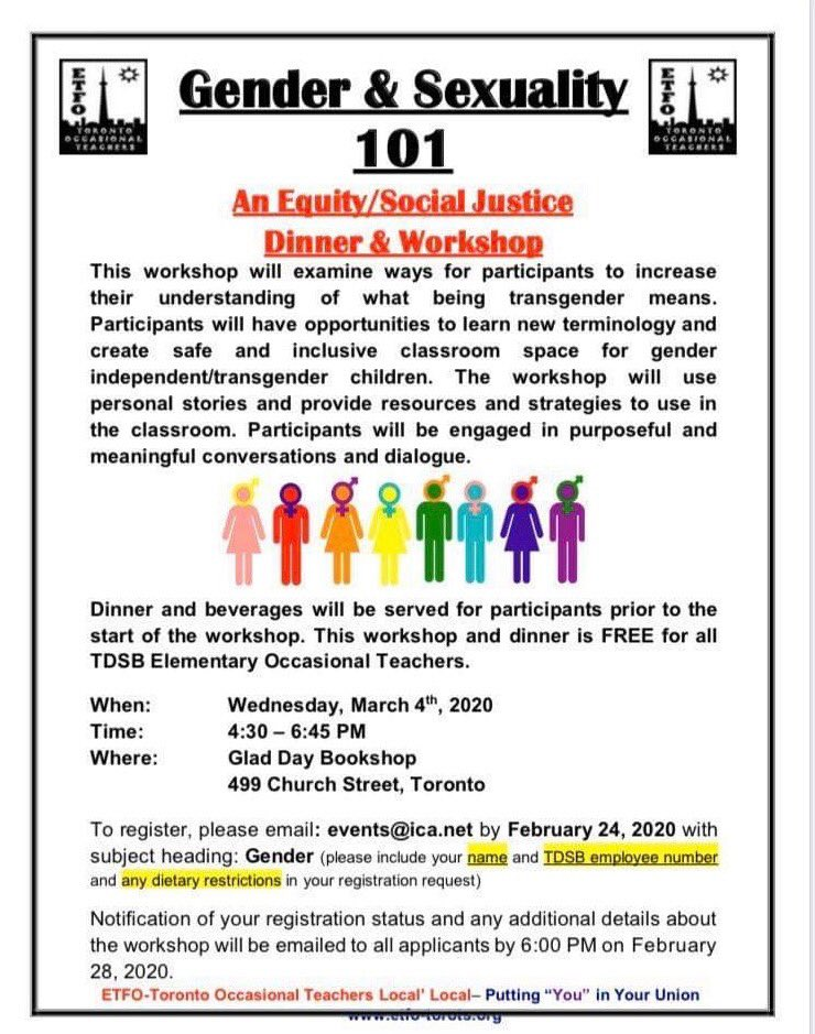 Check out this exciting upcoming event from our #SocialJustice committee!