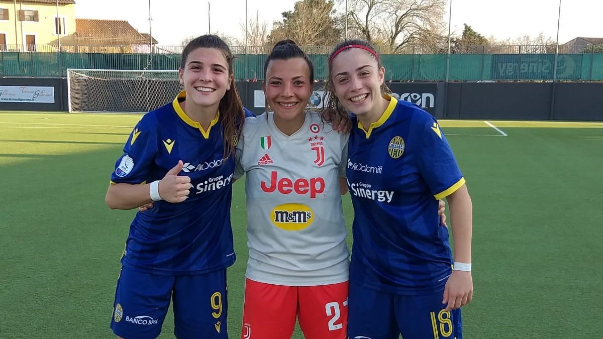 Back together again! 🤩  #VeronaJuve #ForzaJuve
