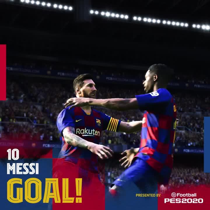 🙌 37' GOOOOOOOOOL do Baaaarça. GOOOOOOOOL de #Messi, que amplia com um chute cruzado. 👑🎉  ⚽️ #BarçaEibar 2️⃣-0️⃣  👊 #ForçaBarça 🔵🔴