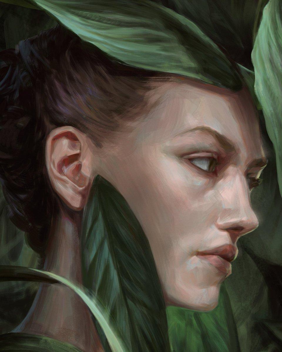A crop detail from that beautiful painting of mine #digitalpainting #art #fantasyart #fantasycharacter #illustration #conceptart #artwork #digitalart #drawing #painting #myart #artoftheday #visualart #portrait<br>http://pic.twitter.com/uZVv2W5Jnr