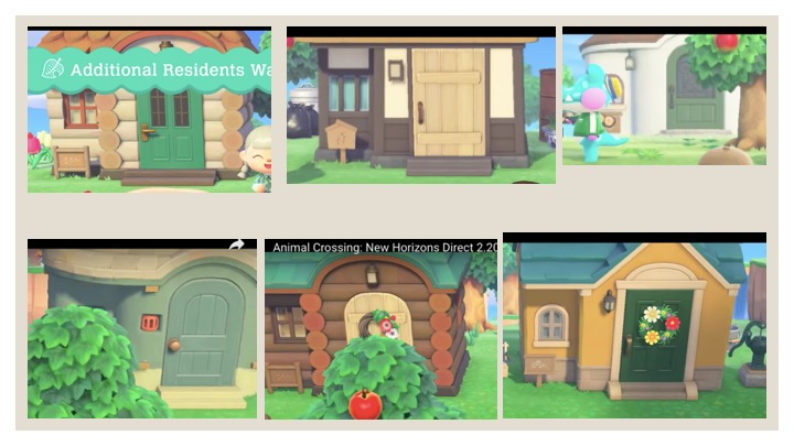 I tried to compile all of the villager houses seen on the Animal Crossing Direct and on the Nintendo website. Not very organized at the moment, but still exciting! #AnimalCrossingNewHorizons