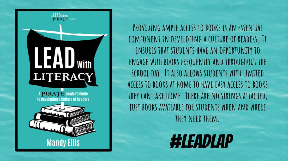 Make sure kids have ample access to books they can read at home... #LeadLAP #LeadLIT