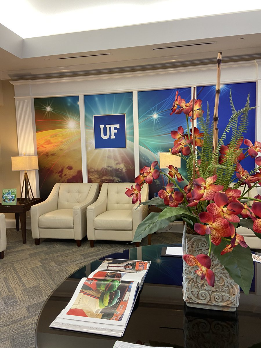 We're at the beautiful @UF Coral Gables Center for our mid-year planning meeting! 🐊
