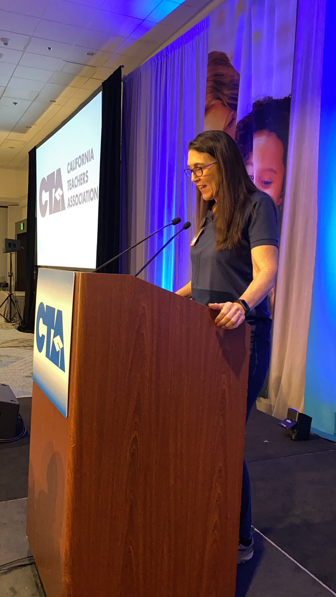 Excitement building at #CTANEW as Michelle Ramos welcomes attendees