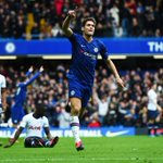 Image for the Tweet beginning: Marcos Alonso leading the way