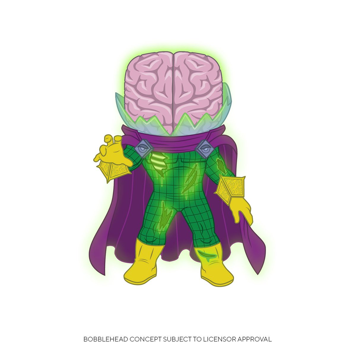 Walmart exclusive GITD Zombie Mysterio up for preorder! #ad ► funko.link/GITDZombieMyst…