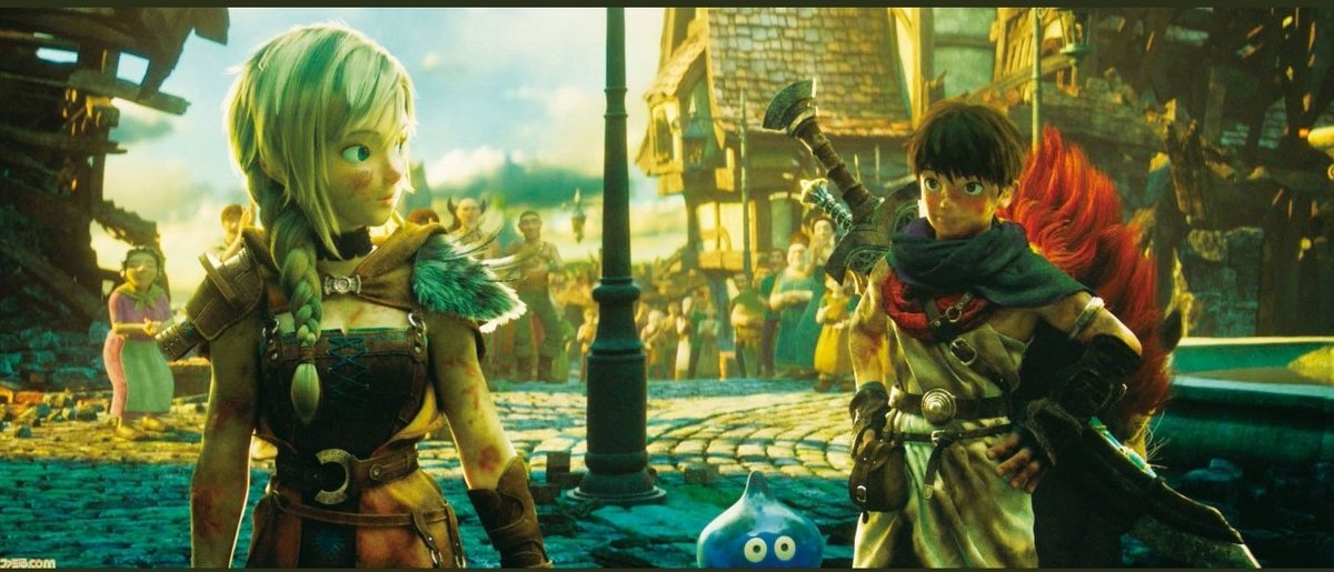 Dragon Quest : Your Story,   watch this art style is amazing #dragonquestyourstory #DragonQuestpic.twitter.com/WKuhcnxg9o