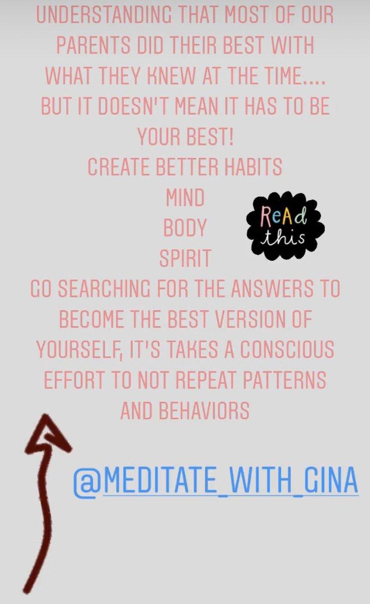 Read this!!!  #meditate #meditation #guidedmeditation #love #yoga #mindfulness #healing #health #selflove #bebetter #relaxing #vibratehigher #chakrabalancing #reiki #reikimaster #instagood #beautiful #happy #photo #strengthtraining #fitover30 #fitover40 #selfmasterypic.twitter.com/i5JpBaS0fC