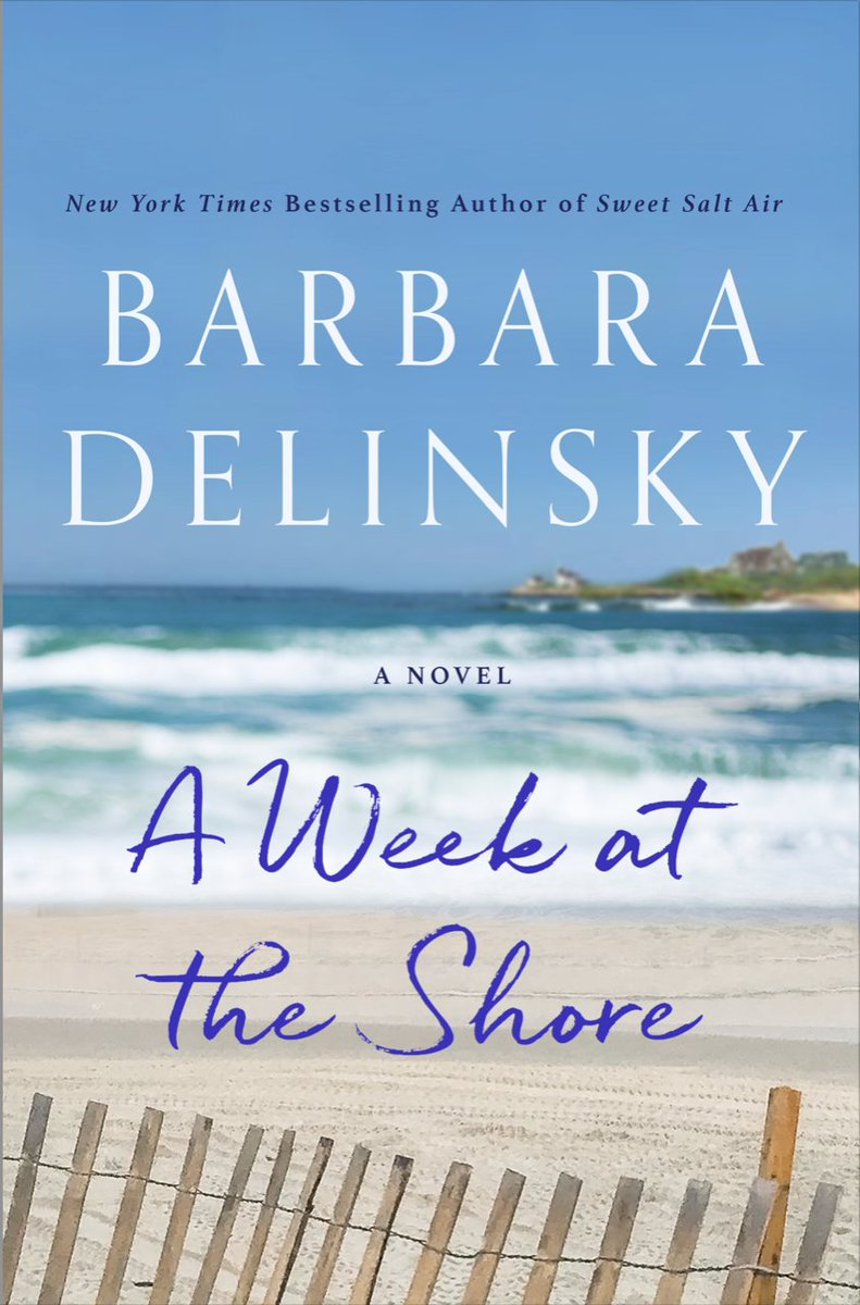In just seven watershed days on the Rhode Island coast three women will test the bonds of sisterhood, friendship and family, and discover the role that love and memory plays in defining their lives.   A Week at the Shore by @BarbaraDelinsky https://geni.us/AWATS   #fiction