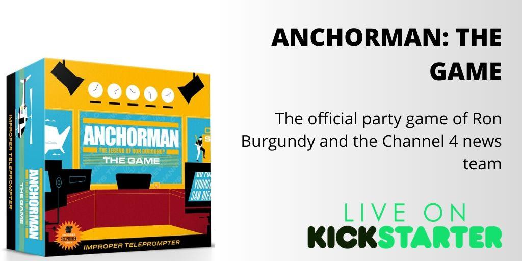 ANCHORMAN: THE GAME http://kck.st/2ugcAEC  #Kickstarter #crowdfunding #crowdfund #games #gamer  @barryandjason #adult #tabletopgame #boardgames  #newgame #tabletop #boardgameaddict #cardgames  #cards #partygame #adultgame #cardgamelover  #kickstartergamepic.twitter.com/DgDQagF7mM
