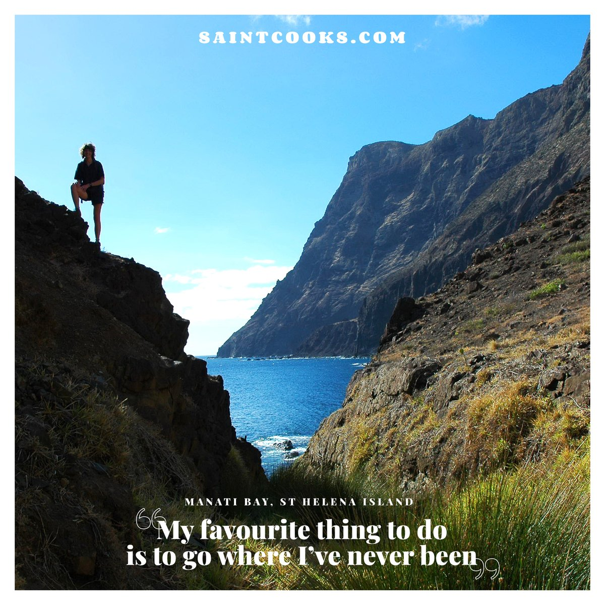 """Sharing the beauty of St Helena 🇸🇭 """"My favourite thing to do s to go where I've never been"""" Please RETWEET 🙏  photo: Andrew Darlow #sthelena #sthelenaisland #saintcooks #travel #travelphotography #photography #nature #wanderlust #adventure #explore #travelling #landscape"""