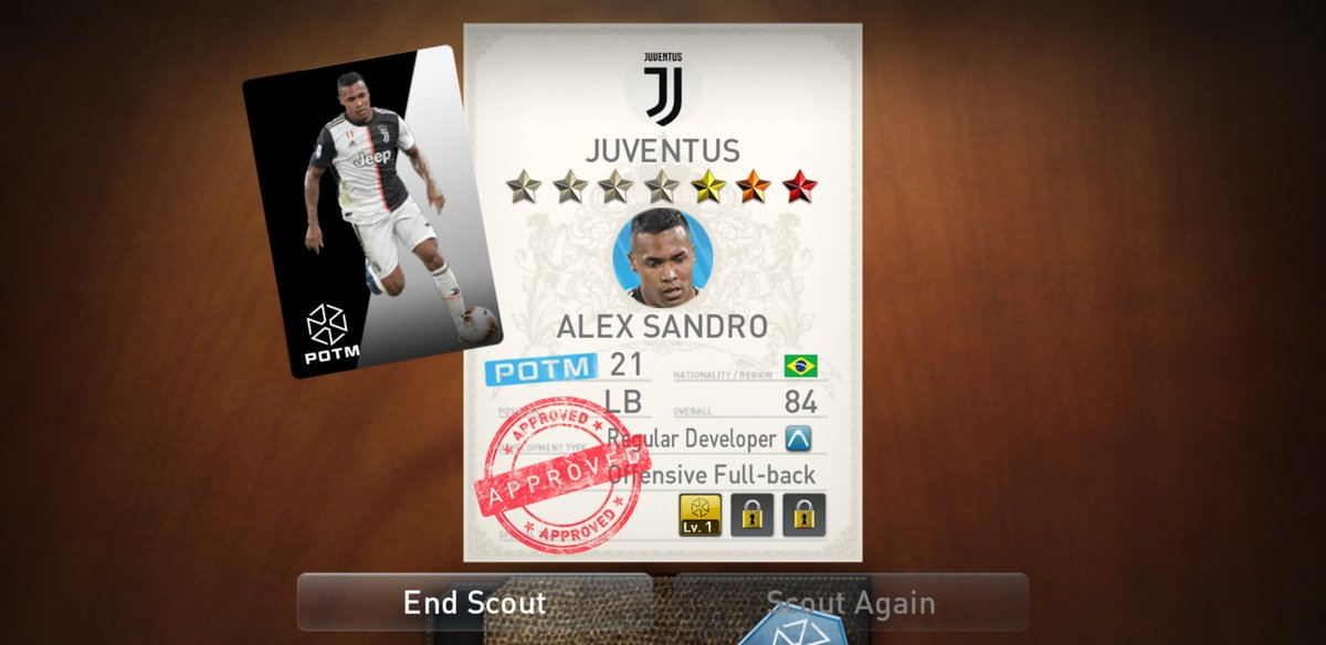 Just packed  Alex Sandro in PES 🏆🏆🏆 #JuveBrescia #Juventus #PES2020 #SerieA #alexsandro  #games