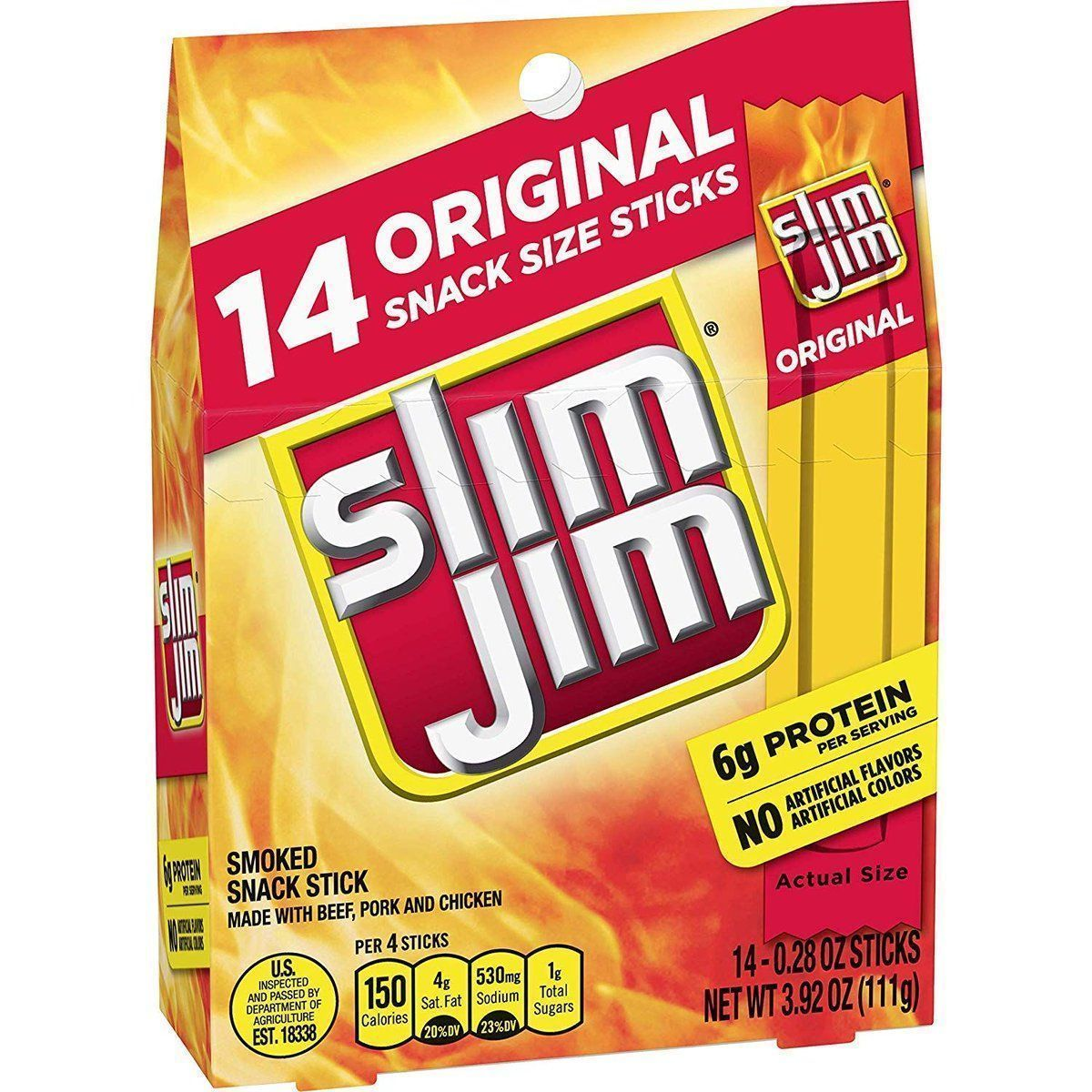 14 pack of Slim Jim- as low as $2.51! buff.ly/2V3OV5e