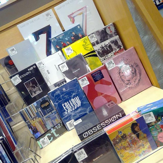 Hey #army and fellow #kpopper we have all the albums you can dream of! Check out the new #mapofthesoul7 we got in as well as favorites of ours! #bn #kpop #bts #music #barnesandnoble #Austin #texas #dance