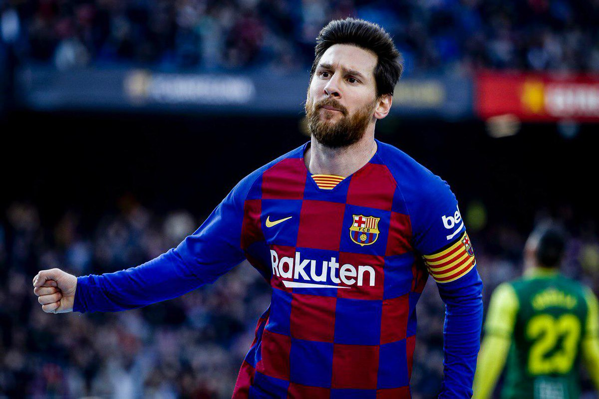🙌 87' GOOOOOOOOOL do Baaaarça. GOOOOOOOOOOL de #Messi 👑, o quarto dele no jogo. Assistência de @MartinBraith  🎉  ⚽️ #BarçaEibar 4️⃣-0️⃣  👊 #ForçaBarça 🔵🔴