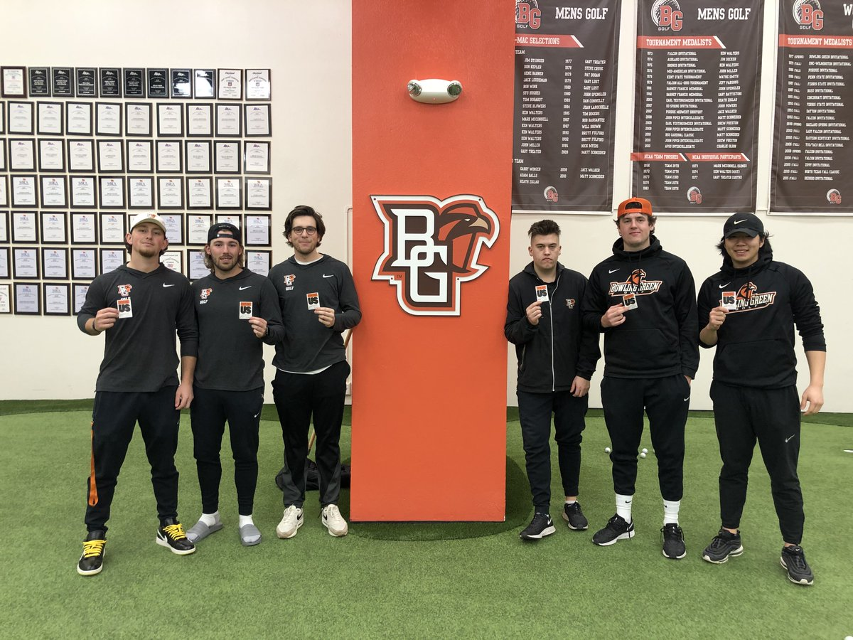 Thank you to @BGMensGolf for taking the pledge to help end sexual assault on college campuses! We are proud to have teams at @bgsu that are dedicated to creating a safe campus culture. #ItsOnUs