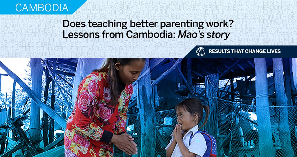 World Bank On Twitter In Cambodia An Early Childhood Care And Development Program Supported By Worldbank Japangov Savethechildren Is Improving Children S Learning Hygiene And Nutrition Discover How This Is Changinglives Https T Co