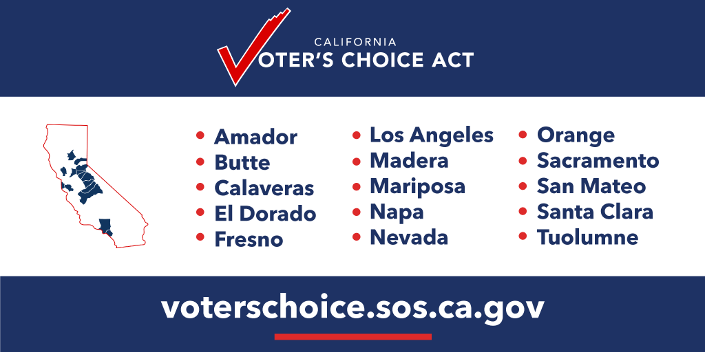 #CA39: Early voting starts today! The first Vote Centers in LA and Orange Counties have opened—more opening next week. You can go to any Vote Center in your county to vote in person, drop off your mail-in ballot, register to vote and more.Find a Vote Center and check hours ⬇️