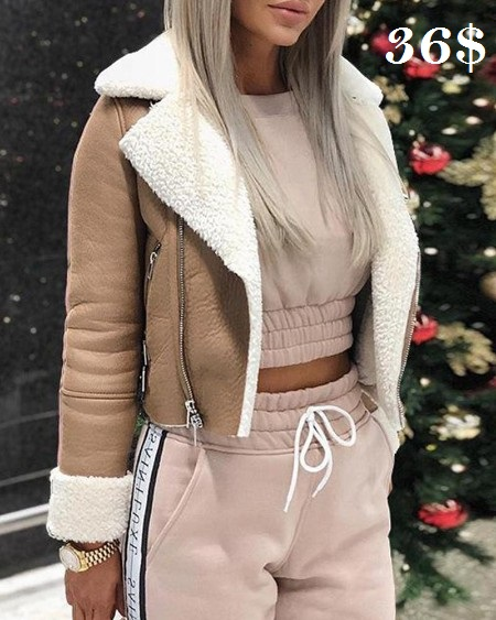 Faux Shearling Zip Double Jacket shop by link : http://fas.st/DXg_l . . . #fashionbloggers #fashionist #stylediaries #stylewoman #Deal #todayimwearingthis #whatiwear #ootdpost #fashionblog   #fashionistastyle #fashionqueen #style  #love #shoppingpic.twitter.com/IZVRKp7VwR