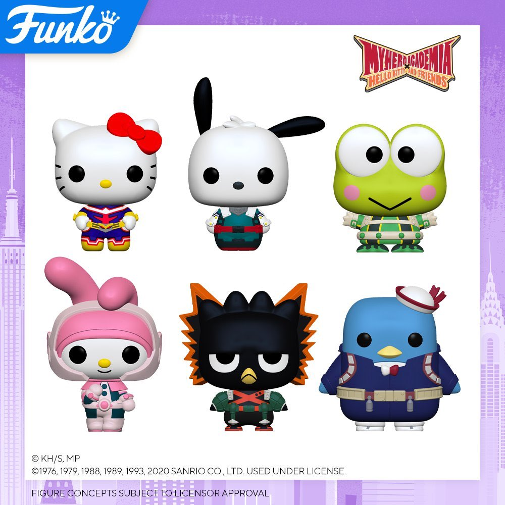 Toy Fair New York 2020 Reveals: My Hero Academia x Hello Kitty and Friends! #ad Pre-order funko.link/NYTF2020EE