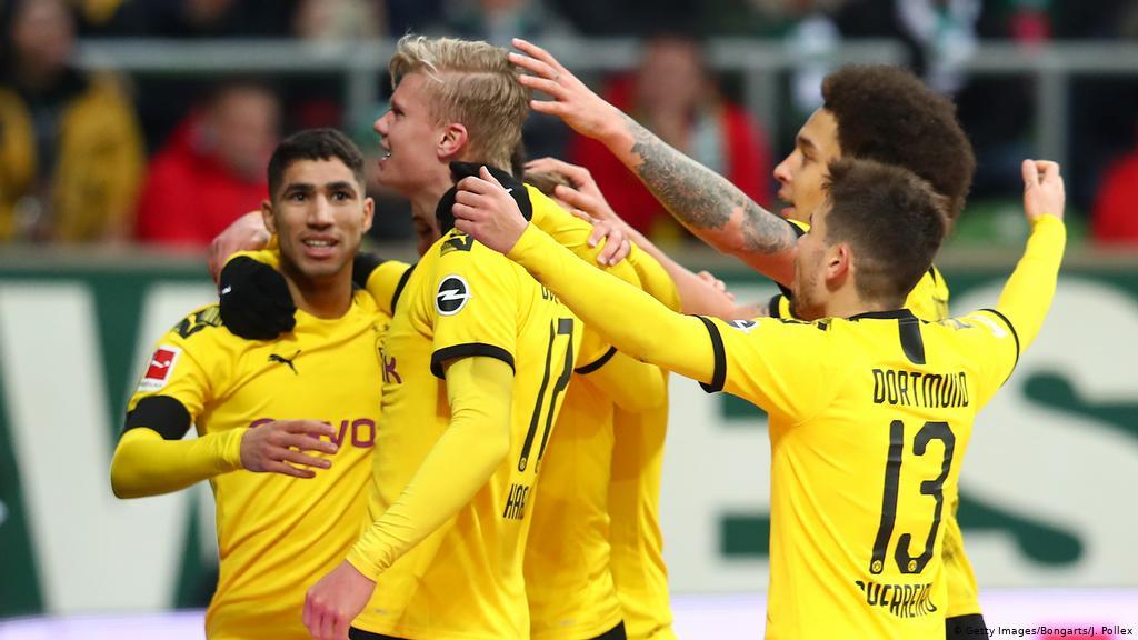 Werder Bremen vs Dortmund Highlights, 22/02/2020