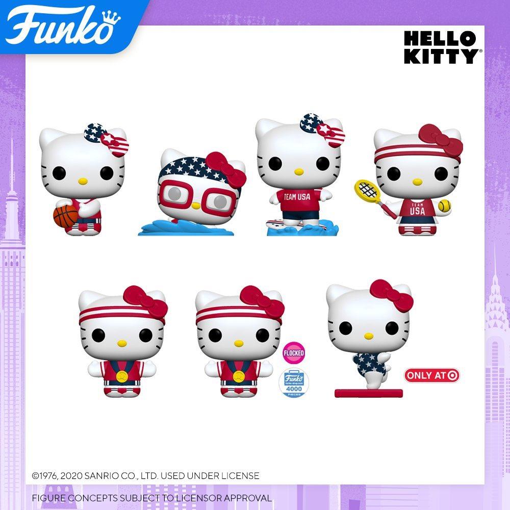 Toy Fair New York 2020 Reveals: Pop! Sanrio - Hello Kitty x TEAM USA #ad Preorder funko.link/NYTF2020EE