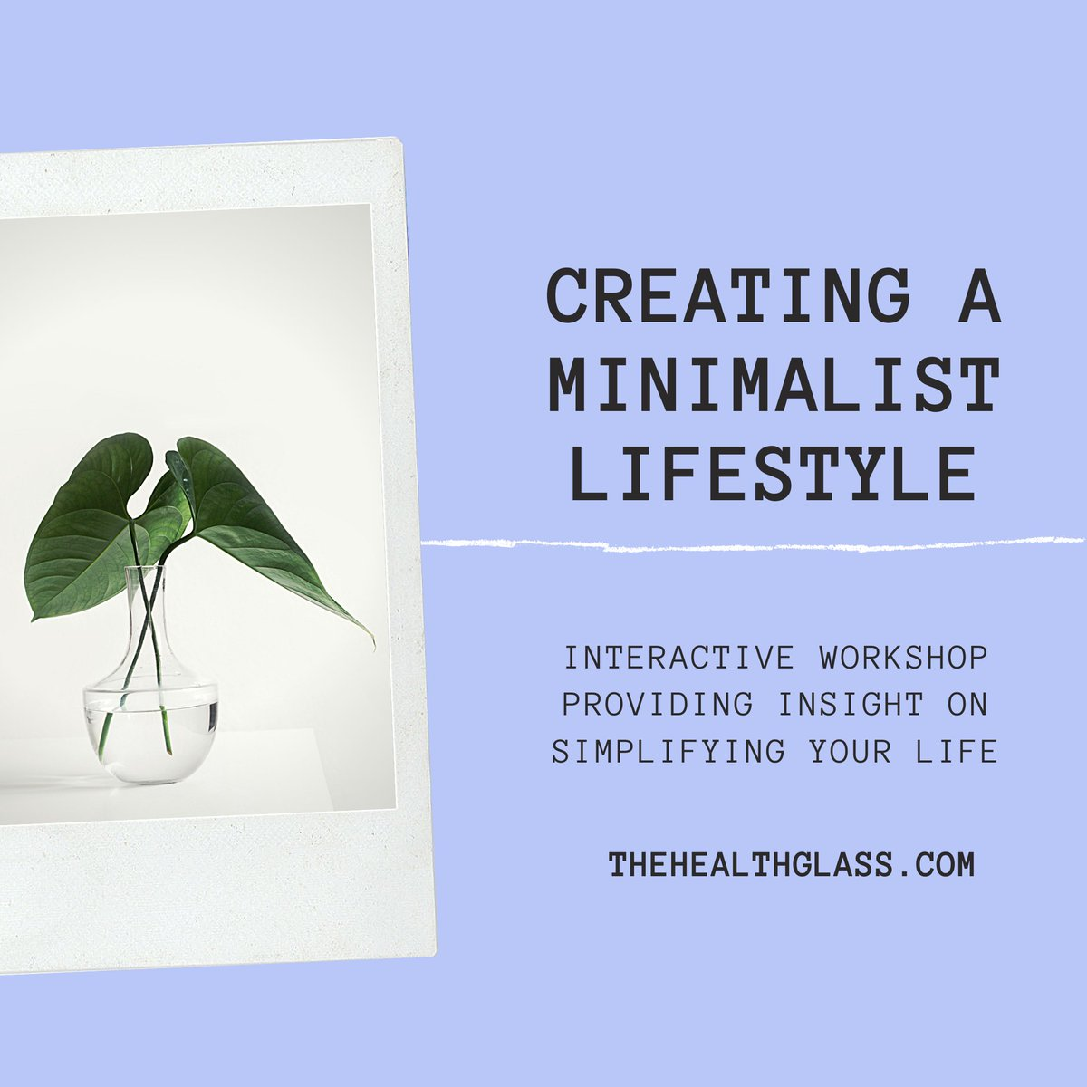 The Creating A Minimalist Lifestyle workshop is an insightful session where employees will learn the variables which contribute to simplifying their lifestyle and learn the benefits of minimalist living. pic.twitter.com/nNZmfzBJSF