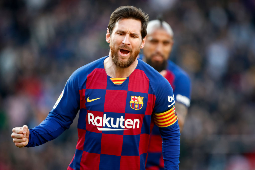 Lionel Messi is the first player to ever achieve over 1,000 total goal contributions. 🤯🤩🐐   696 goals.  306 assist.  #Messi  #BarcaGetafe #Barcelona #LaLiga #football #goal