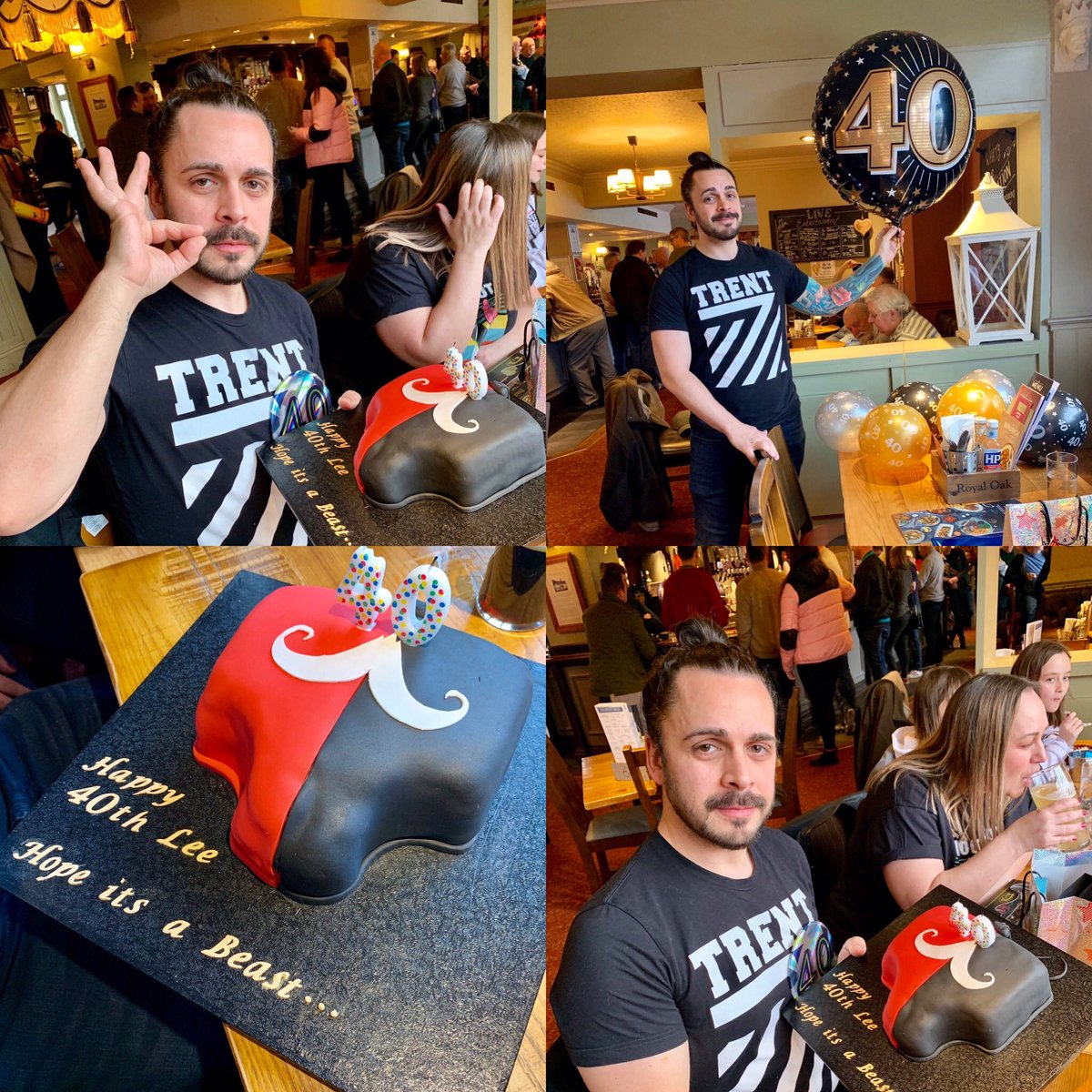 So I got given this sweet @trentseven @Tyler_Bate cake today. Can you get any sicker. . #WWE #WWENXT #wrestling #britishstrongstyle #trent7 #tylerbatepic.twitter.com/vvoNRvR4hh