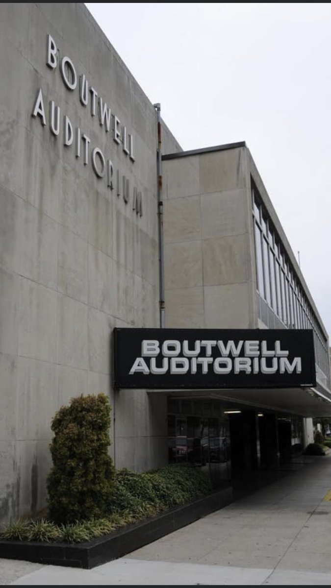 Boutwell Auditorium Birmingham Alabama - Monday nites - worked there for Nick Gulas and southeastern and continental for the Fuller's... wrestling every Monday nite in Birmingham !!! pic.twitter.com/ODTNfgzBLd