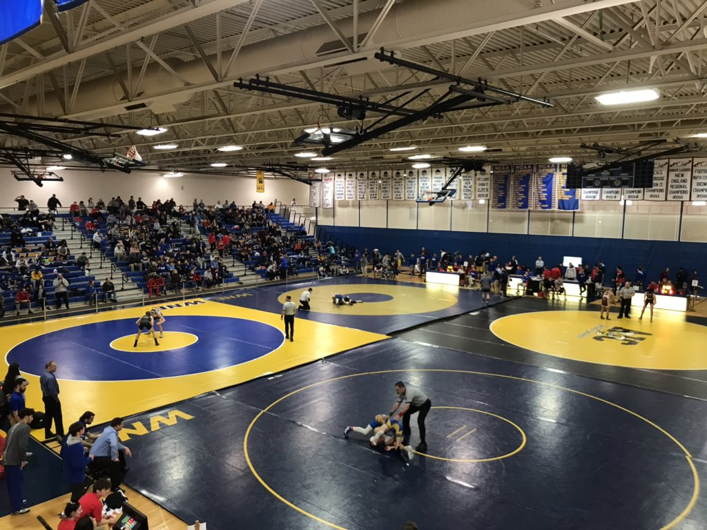 Something different! GBears host the NEWA Futures Tournament. Let's go @wne_wrestling! pic.twitter.com/fA7ZDOELzv