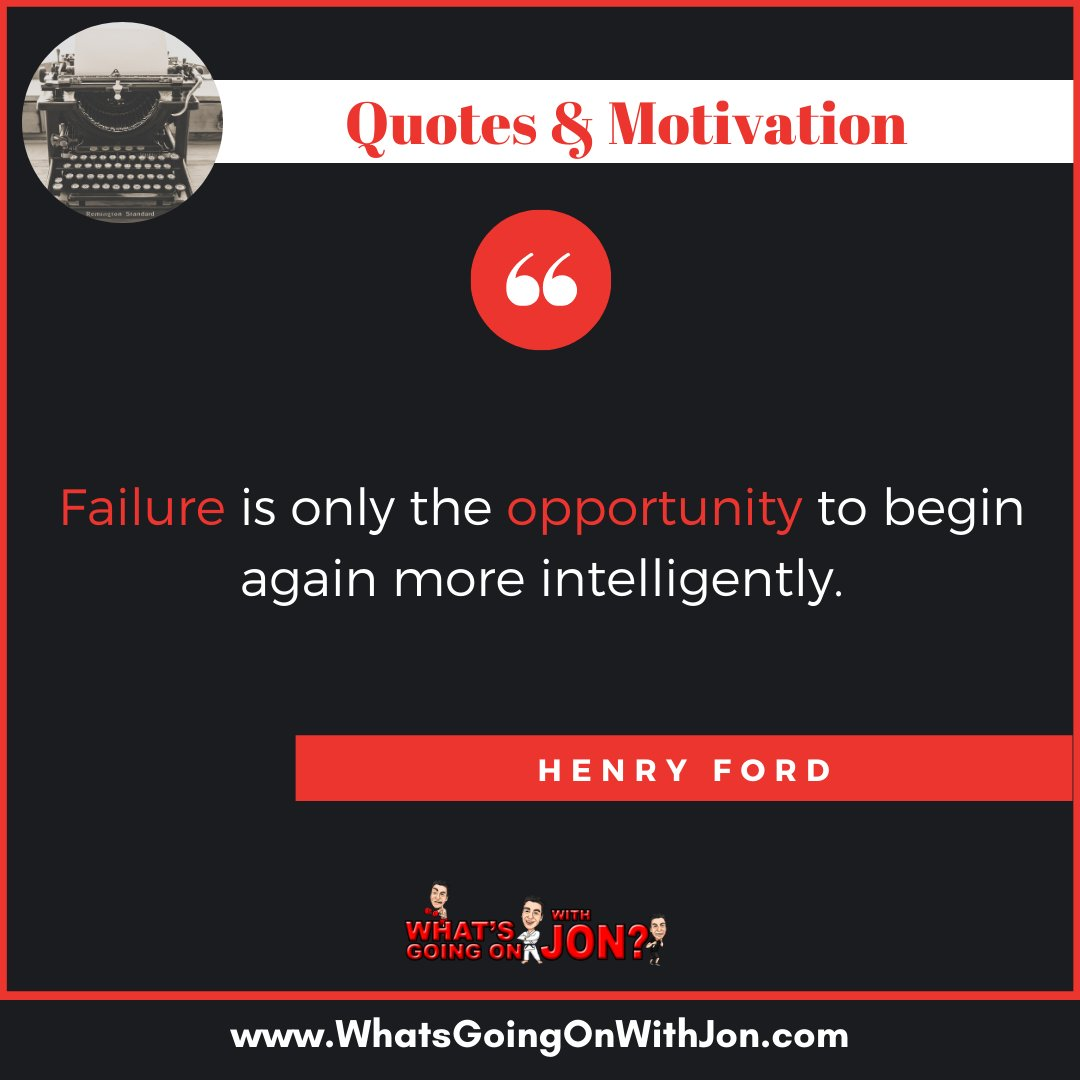 Opportunities. - #henryford #henryfordquote #failurequotes #failureisntreal #quoteofthedayy #quotestoliveby #quotestoponder #quotestolivebyforever #quotestomotivate #quotesilove #quotesloverpic.twitter.com/GmlELCepfH