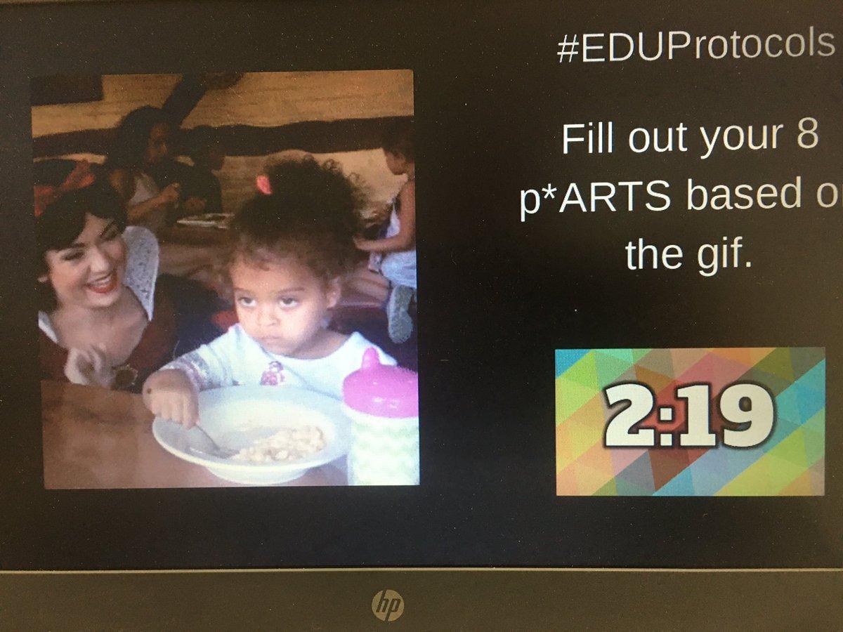 Next up 8 p*ARTS! #EduProtocols @12thladyhawk @pbvUniversity #WeArePBV