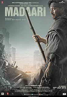 Watching #MADAARI_MOVIE Heart touching movie Awesome acting by @irrfank  Acting in blood pic.twitter.com/9QP8nm9nTh