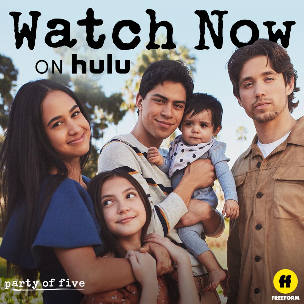 We've got plans this weekend. Watch #PartyOfFive now on @Hulu.
