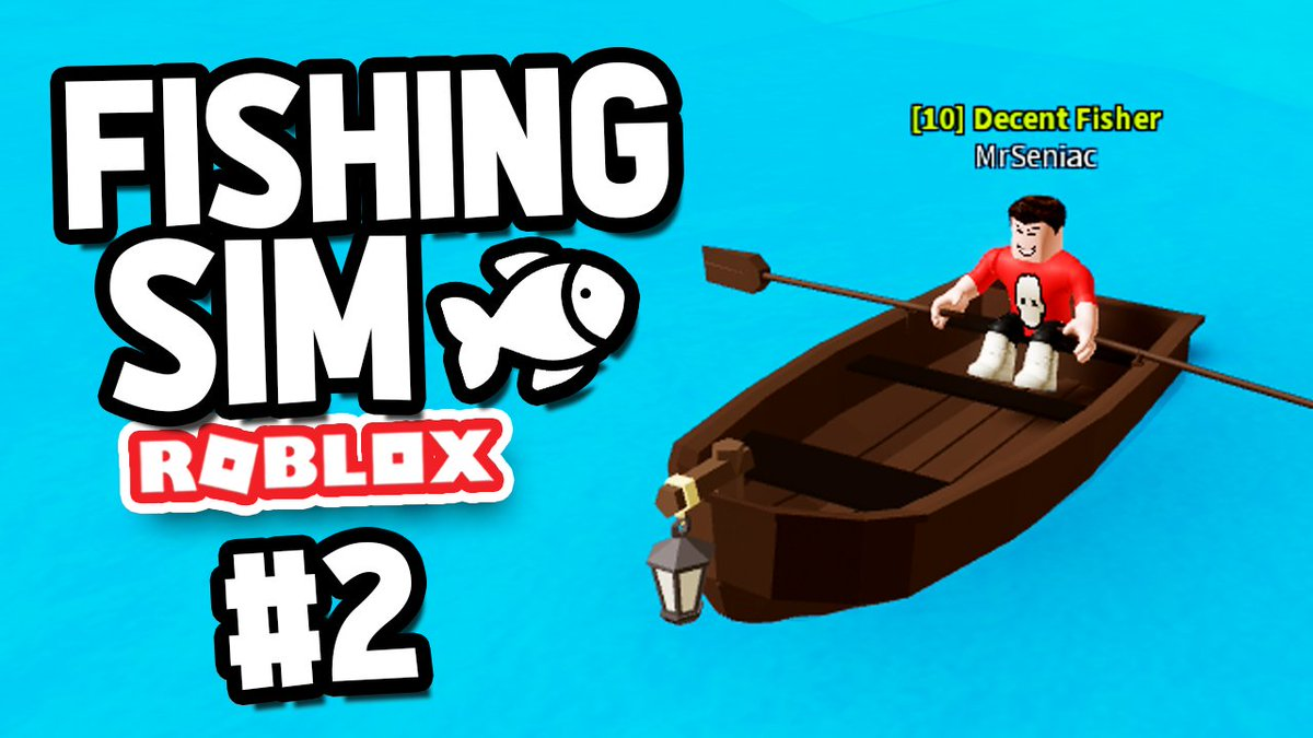 Seniac On Twitter Buying My First Boat Roblox Fishing