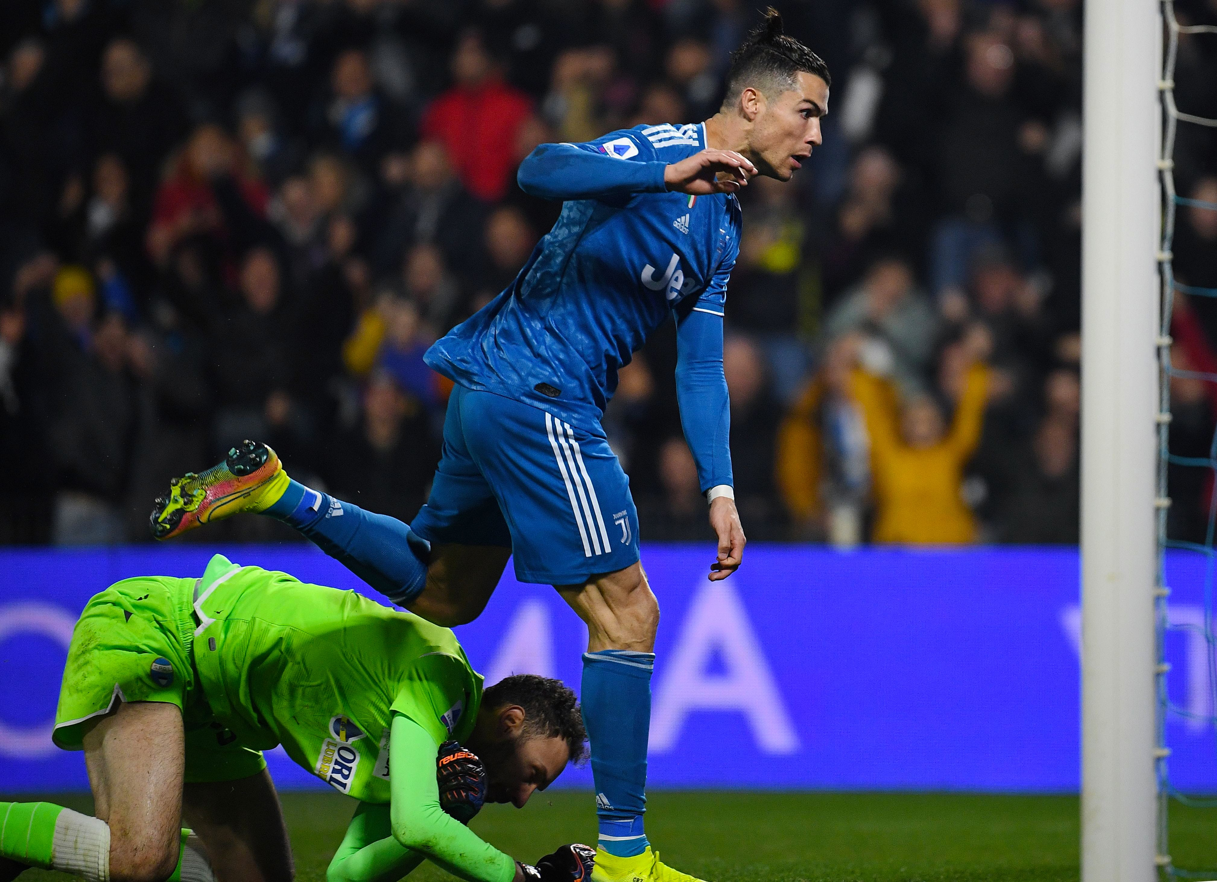 Ronaldo scores to mark 1,000th appearance