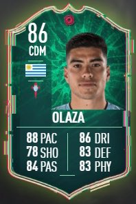 Olaza 🇺🇾 Shapeshifter SBC Requirements 🔐: 84 Squad 1 IF 85 Squad 1 IF Thoughts? ⤵️ @EASPORTSFIFA being lazy as per