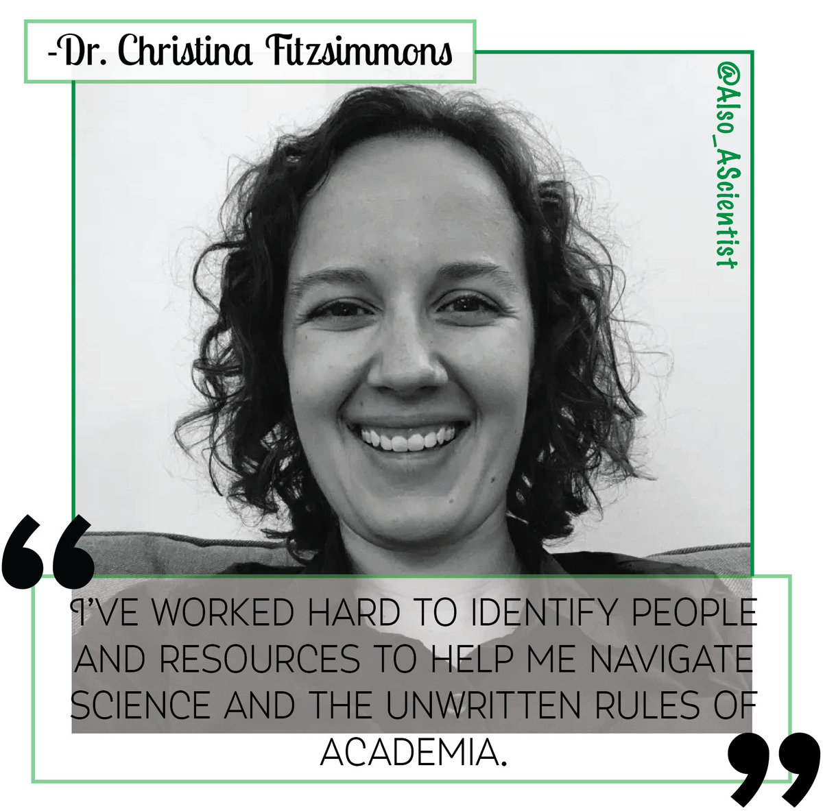 Meet @FitzsimmonsCM! Shes a postdoc @NCIResearchCtr studying how changes in the cell metabolic rates influence gene expression & RNA modification. Outside of lab, you can find her hiking, playing board games, or reading sci-fi! #WomenInSTEM ✨ow.ly/5H8N50ytjnO✨
