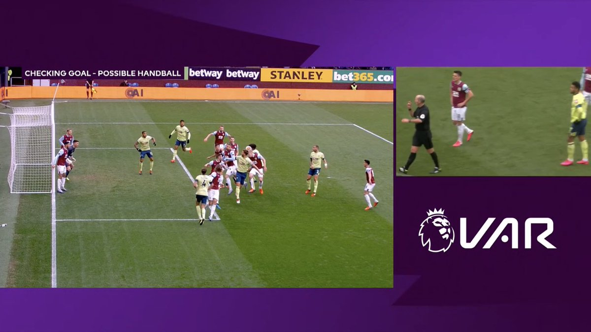 Only one of these examples wasn't given as handball. Any guesses which one? #afcb