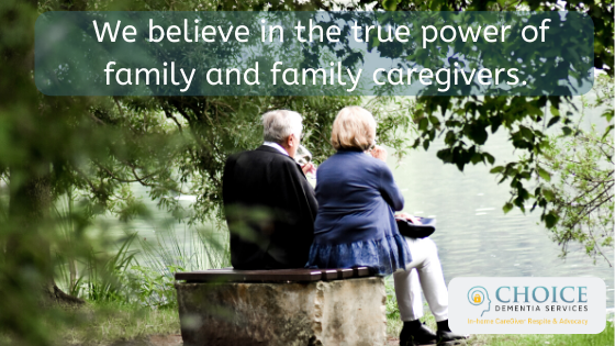 We Believe in the True Power of Family and Family Caregivers. #Alzheimers #dementia #caregivers