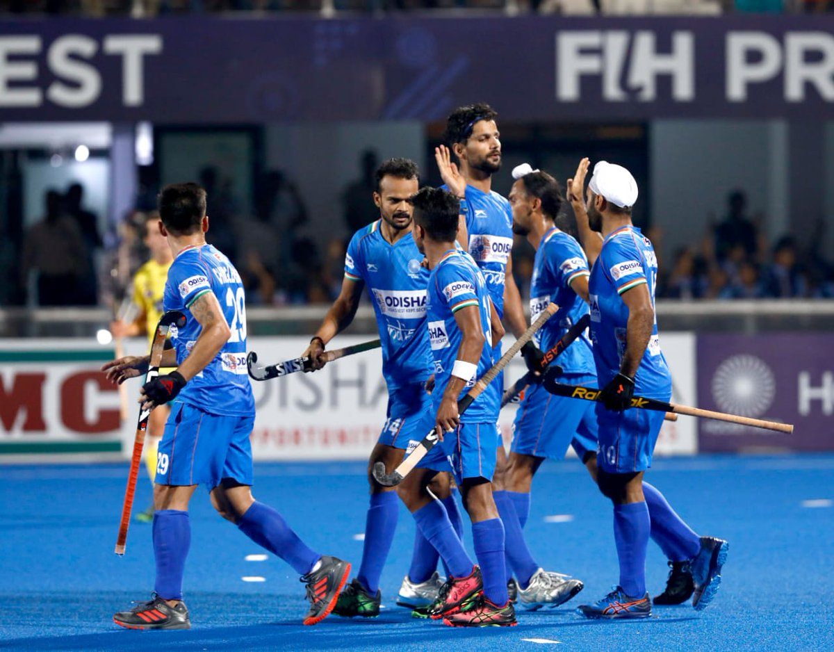 In case you missed out on today's thrilling action, here are some glimpses from #INDvAUS #FIHProLeague match!  #OdishaForHockey #IndiaKaGame #MenInBlue<br>http://pic.twitter.com/0hpKaD9IPL
