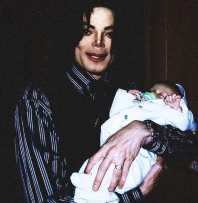 Happy Birthday to MJ s youngest child Prince Michael Jackson ll. Blanket/Bigi.