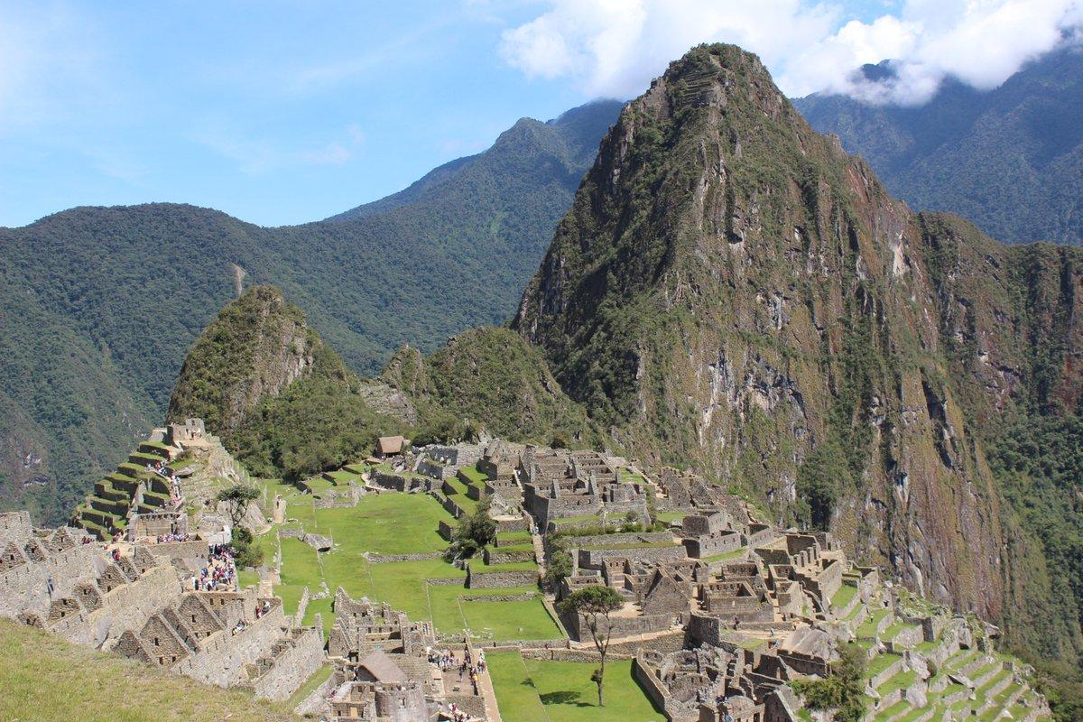 Machu Picchu Cuzco Inca ruins mountain landscape  wonder of the world Magnificent view and Landscape Peru I wish you a pleasant weekend my dear friends  <br>http://pic.twitter.com/R1IrUoen16