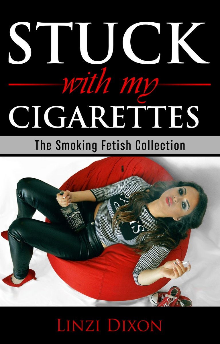 Read about how sticking with an enjoyable #smokinghabit transformed the #lives of our #girls through the succulent power of the #cigarette - #StuckWithMyCigarettes - #SmokingFetish #Smoking #SmokingGirls - #Ebook -