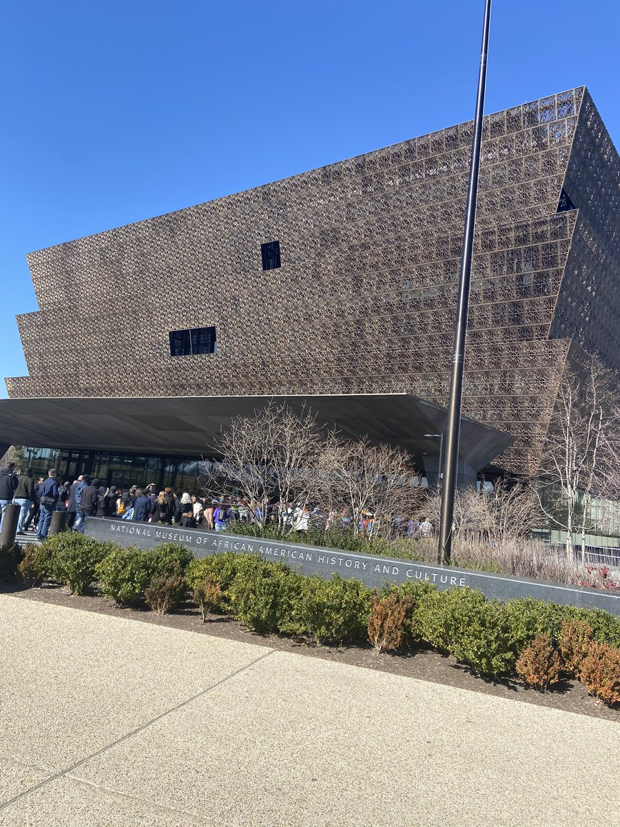 African American History Museum with my bestfriend of course 😊